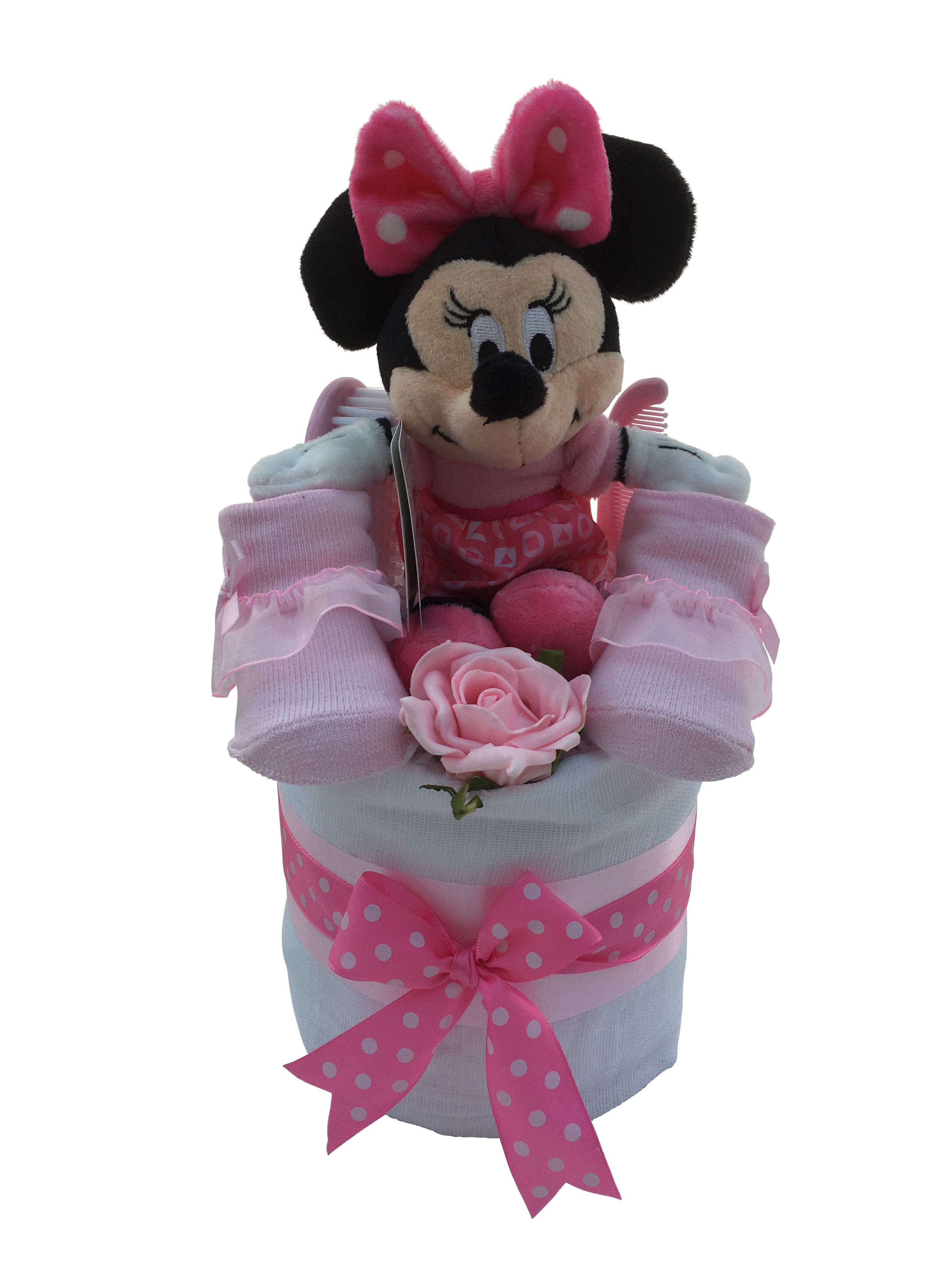 Minnie Mouse Mini Nappy Cake Truly Gifts Uk